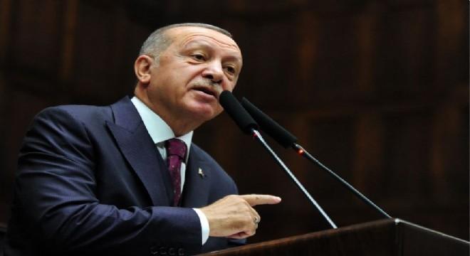 """Cumhurbaşkanı Recep Tayyip Erdoğan, 13 Kasım tarihinde ABD'ye yapılması planlanan ziyarete ilişkin, """"Şu anda henüz kararımı vermedim ama soru işareti"""" dedi."""