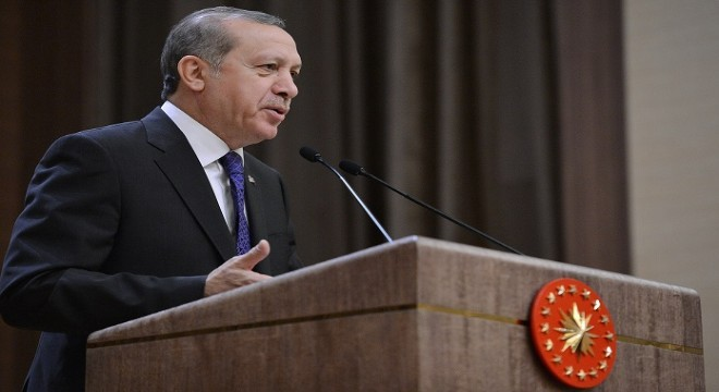 """Erdoğan, 'Vatandaşlarımız şundan emin olsun: Türkiye'de bugüne kadar ne yapıldıysa AK Parti yaptı. Bundan sonra da ne yapılacaksa AK Parti yapacaktır. Rabbim yar ve yardımcımız olsun. """" diye konuştu."""