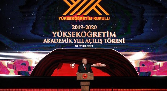 """Cumhurbaşkanı Recep Tayyip Erdoğan, """"Adı vakıf ama kusura bakmasınlar vakıf olmaktan çıkmışlar tamamen ticari çalışıyorlar."""