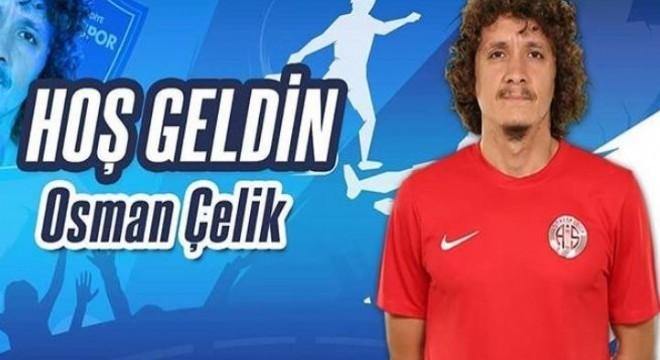 BB Erzurumspor son olarak Antalyaspor'da forma giyen orta saha oyuncusu Osman Çelik'i kadrosuna kattı.