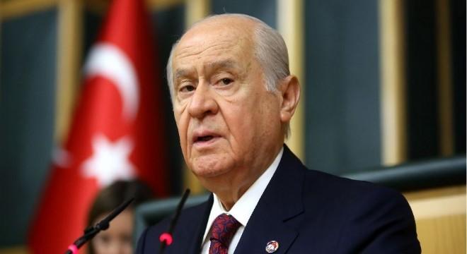 Milliyetçi Hareket Partisi (MHP) Genel Başkanı Devlet Bahçeli,