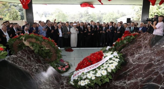 """İçişleri Bakanı Süleyman Soylu, """"17 Eylül 1961'de Adnan Menderes ve arkadaşları Türk demokrasisi ile beraber bir cinayete kurban gitmiştir"""" dedi."""
