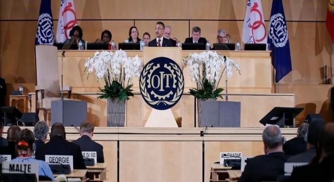 Oktay, Uluslararası Çalışma Örgütü'nün (ILO) 108'inci Uluslararası Çalışma Konferansında, tüm devletlerin Fetullahçı Terör Örgütü gibi örgütlerle bağlantısı olanların iş sözleşmelerini feshetmesinin doğal olduğunu söyledi.