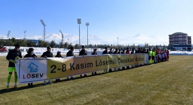 Yakutiye Belediyespor'dan farkındalık vurgusu